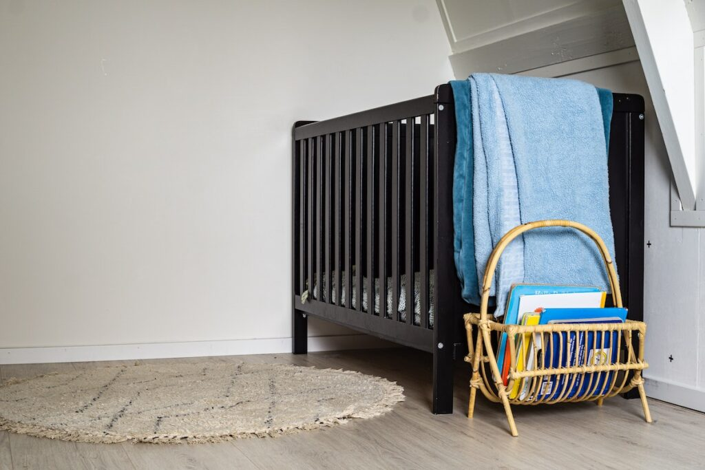 Setting up as a childminder with a safe sleep space